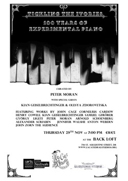 Tickling the Ivories poster