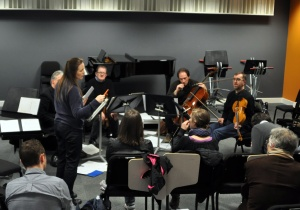 Deirdre Gribbin and the Vanbrugh Quartet