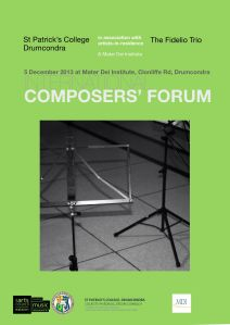 Poster Composers'Forum 13