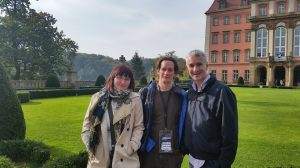 Anna Murray (AIC), Dave Flynn and Jonathan Grimes (CMC) attending the ISCM World Music Days/IAMIC conference in Poland